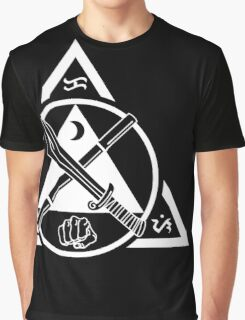 Kali Filipino Martial Arts Emblem Graphic T-Shirt