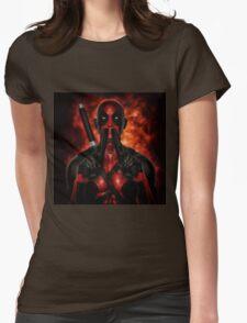 Classic Superhero 2 Womens Fitted T-Shirt