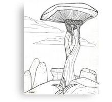 Ascadian Isles Scenery Canvas Print