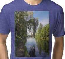 River Thames, Windsor UK Tri-blend T-Shirt