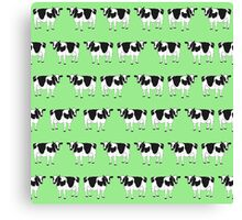 Cows pattern Canvas Print
