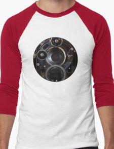 Vintage Camera Photography Lenses Men's Baseball ¾ T-Shirt