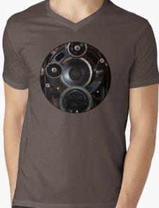 Vintage Camera Photography Lenses Mens V-Neck T-Shirt