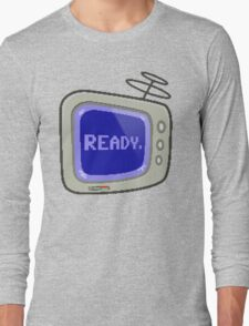 Commodore 64 Monitor Screen TV Long Sleeve T-Shirt
