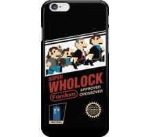 Super Wholock - Cartridge iPhone Case/Skin