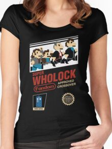 Super Wholock - Cartridge Women's Fitted Scoop T-Shirt