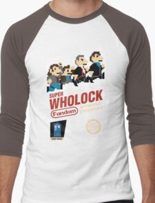 Super Wholock - Cartridge Men's Baseball ¾ T-Shirt