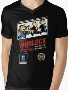 Super Wholock - Cartridge Mens V-Neck T-Shirt