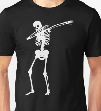 Dab Skeleton Art Unisex T-Shirt