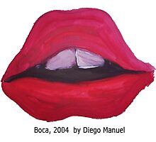 Boca by Diego Manuel Photographic Print