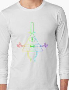 Cipher Stencil Long Sleeve T-Shirt