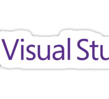 Microsoft Visual Studio Sticker