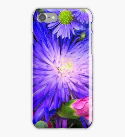 Purple Sunburst iPhone Case/Skin