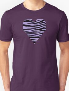 0373 Light Pastel Purple Tiger T-Shirt