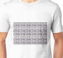 Klimt Inspired Ribbon and Roses Unisex T-Shirt
