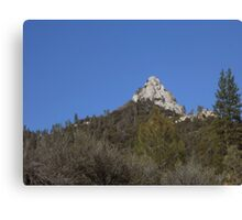 Moro Rock in the Sequoia National Forest Canvas Print