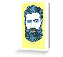 Beard Power Greeting Card