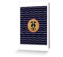 Horse of the Sea Greeting Card
