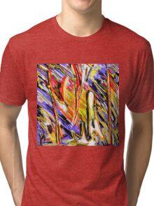 Matt Texture 4 - DAWN Tri-blend T-Shirt