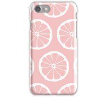 Pink Grapefruit iPhone Case/Skin