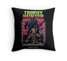 Trophy Hunter Throw Pillow