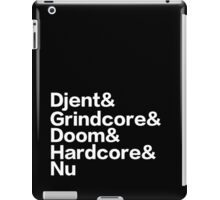 Heavy Metal (pt.1) iPad Case/Skin
