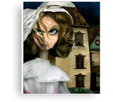 Dollhouse  - Gothic Art Canvas Print
