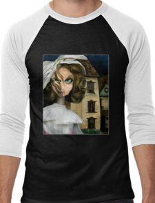 Dollhouse  - Gothic Art Men's Baseball ¾ T-Shirt