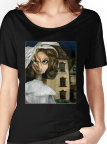 Dollhouse  - Gothic Art Women's Relaxed Fit T-Shirt