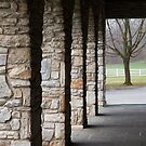 Tree and Columns by Russell Fry