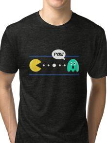 PAC MAN EPIC WIN Tri-blend T-Shirt