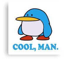 Paper Mario Penguin Canvas Print