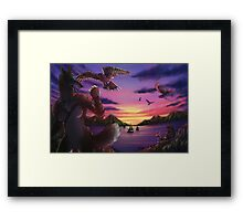 Everything the Light Touches Framed Print