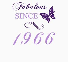 Fabulous Since 1966 Womens Fitted T-Shirt