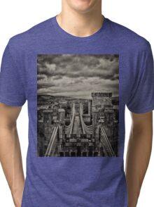 North Wales 001 Tri-blend T-Shirt