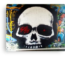 Silly Skully Canvas Print
