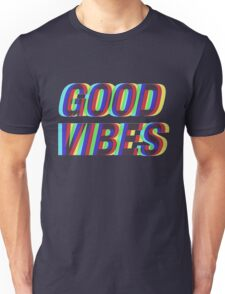 Good Vibes Trippy Unisex T-Shirt