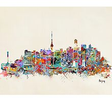 Beijing city skyline Photographic Print