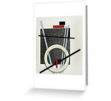 Abstract composition 143 Greeting Card