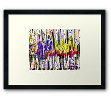 Primary Heartbeat Framed Print