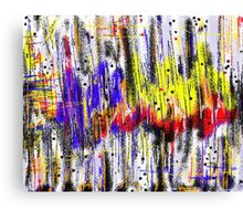 Primary Heartbeat Canvas Print