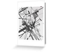 Abstract composition 168 Greeting Card