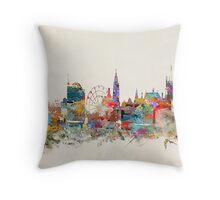 Sheffield city skyline Throw Pillow