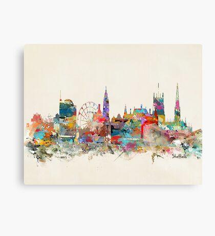 Sheffield city skyline Canvas Print