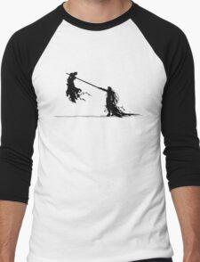 Cloud vs Sephiroth Men's Baseball ¾ T-Shirt