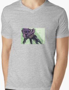 Dark Rose  Mens V-Neck T-Shirt