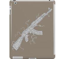 make noodle, not war... iPad Case/Skin