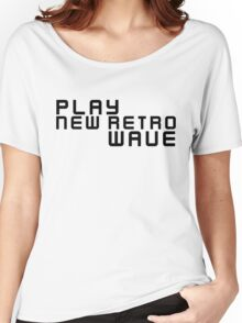 Party Dance New Retro Wave Music Women's Relaxed Fit T-Shirt