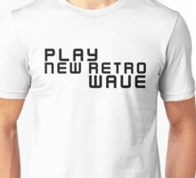 Party Dance New Retro Wave Music Unisex T-Shirt