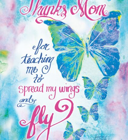 Mothers Day by Jan Marvin Sticker